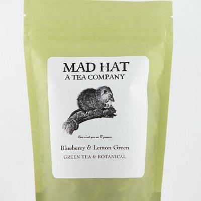 Mad Hat Tea | Blueberry & Lemon Green