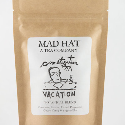 Mad Hat Tea | Constipation Vacation