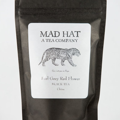 Mad Hat Tea | Earl Grey Red Flower