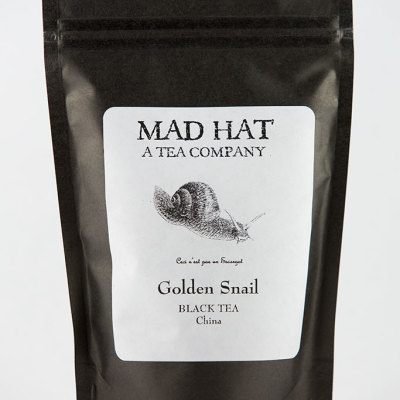 Mad Hat Tea | Golden Snail
