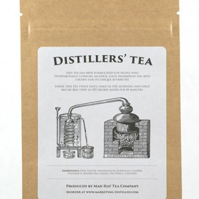 Mad Hat Tea | Distillers' Tea foods for liver health