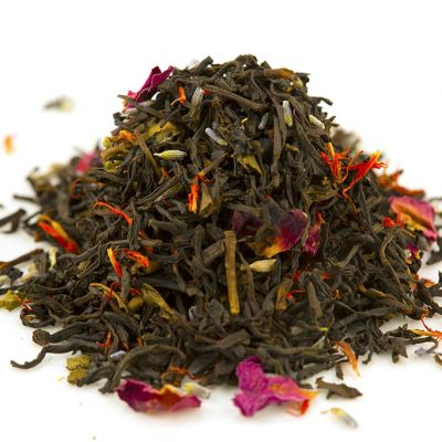 Mad Hat Tea | Earl Grey Red Flower with Lavender and Rose