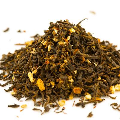 Mad Hat Tea | Puerh Orange Ginger